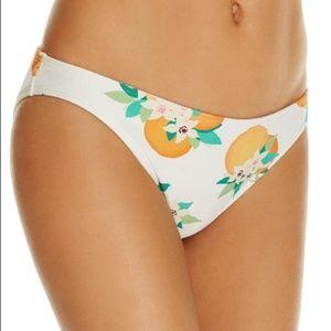 Kate Spade Capistrano Beach Orange Bikini Bottom